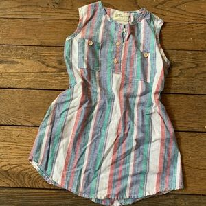 Kids Unisex US Made Boy + Girl Striped Long Top